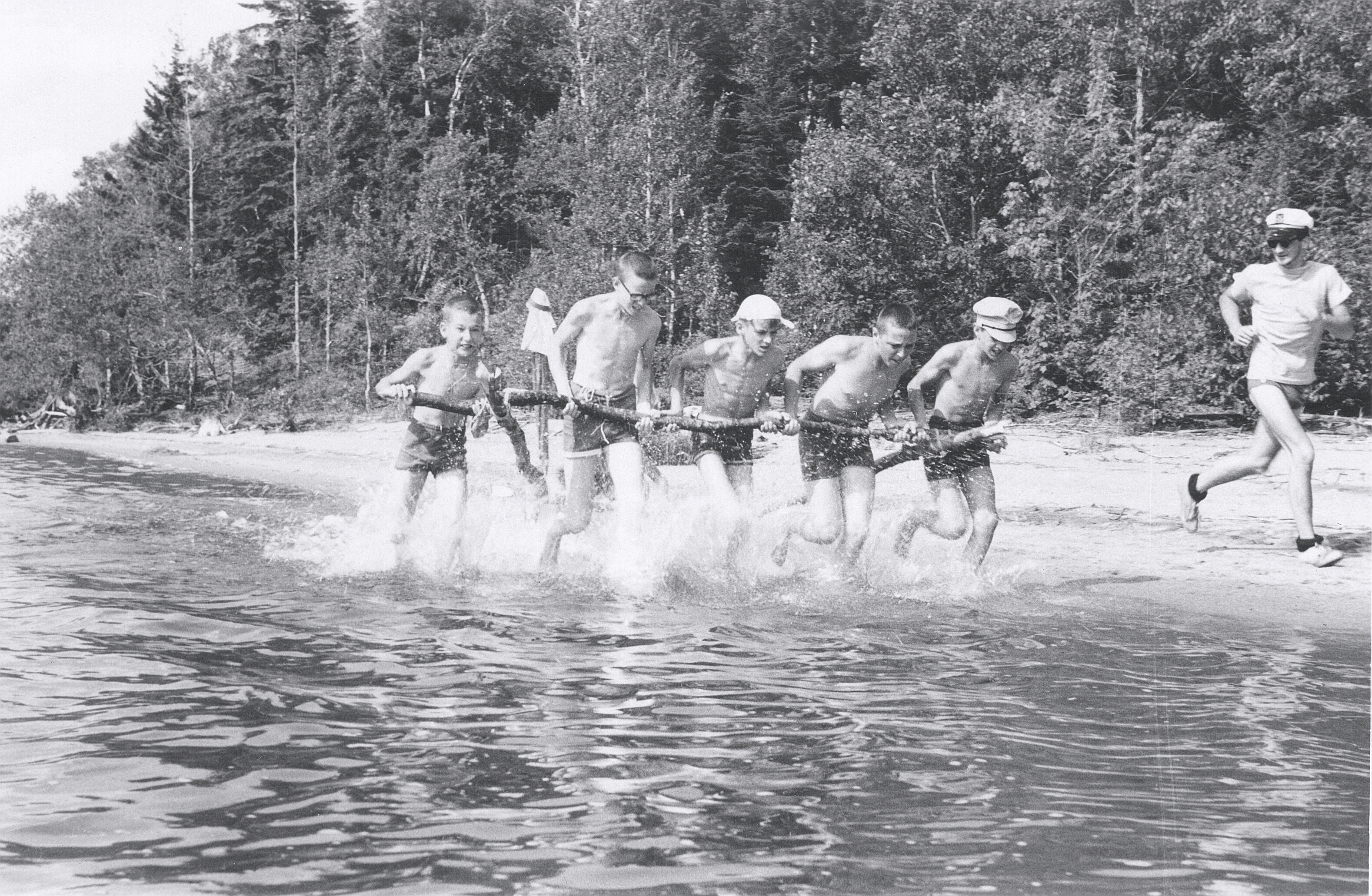 Les sorties en canot
