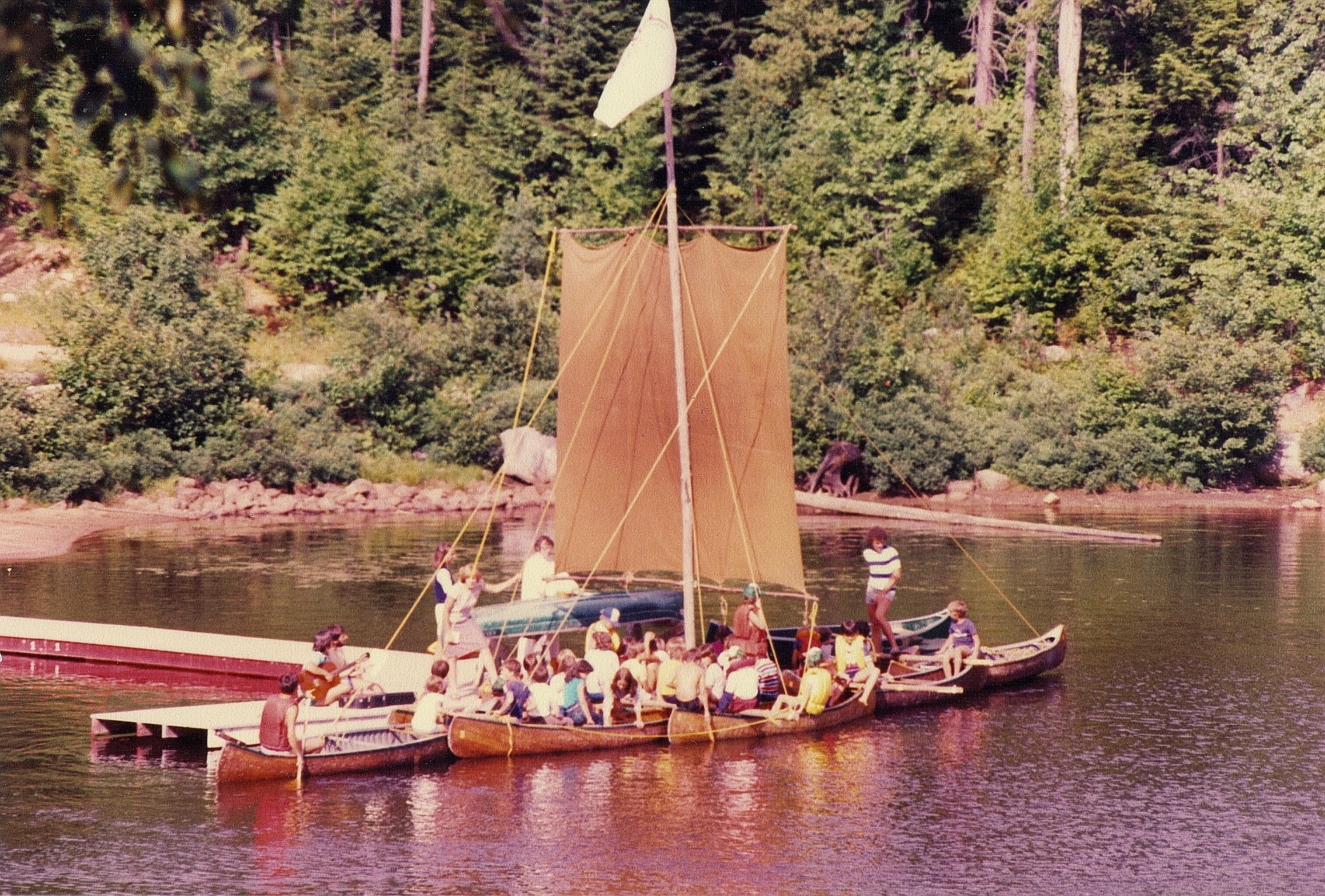 Le canot au fil des ans