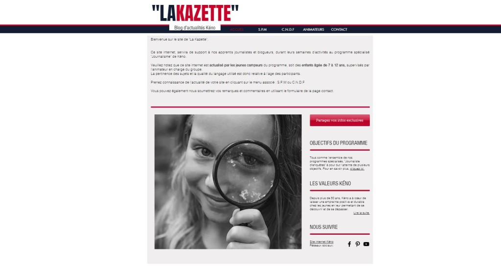 lakazette - journaliste denquete